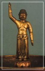 金銅誕生釈迦仏立像