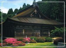 善水寺の本堂